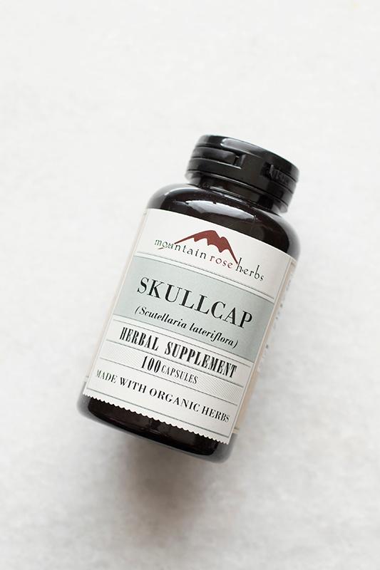 New in the Shop: Skullcap Herbal Capsules