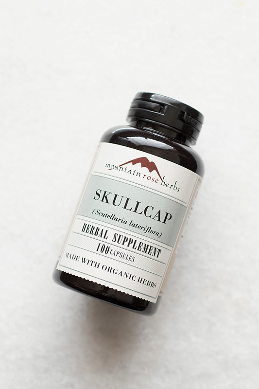 New in the Shop: Skullcap Herbal Capsules