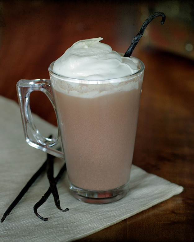 Spiked Vanilla Bean Cocoa
