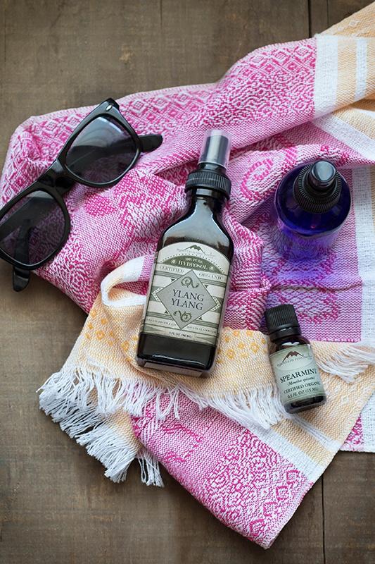 DIY Body Sprays with Essential Oils