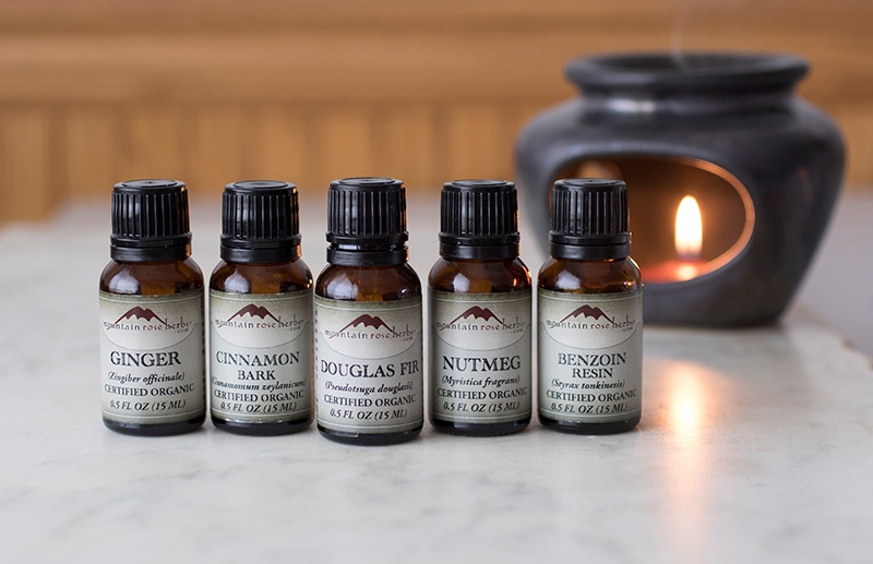 Trees and Spice Essential Oils