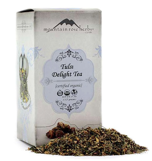 Organic Tulsi Delight Tea!