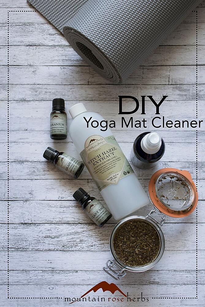 diy yoga mat spray recipe. Black Bedroom Furniture Sets. Home Design Ideas