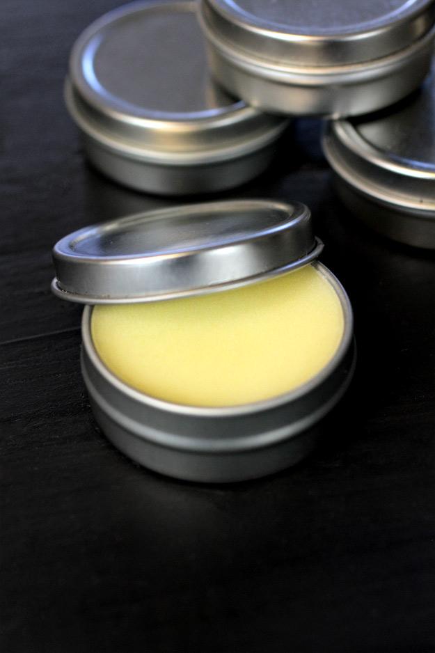 Argan oil cuticle cream in a tin