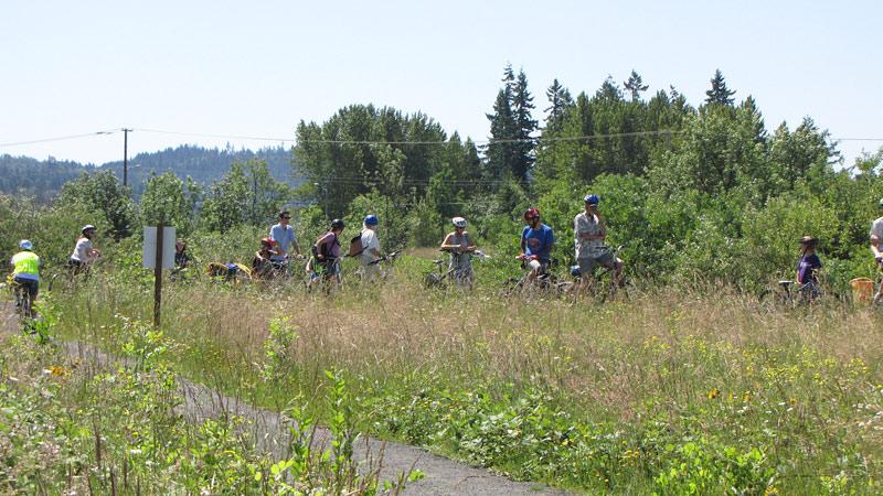 Beyond Toxics Bike Tour Mountain Rose Herbs