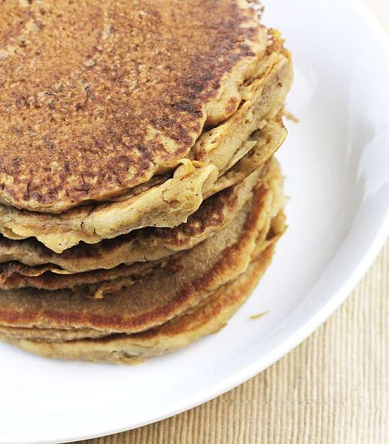 Tea Spiced Pancakes by Mountain Rose Herbs