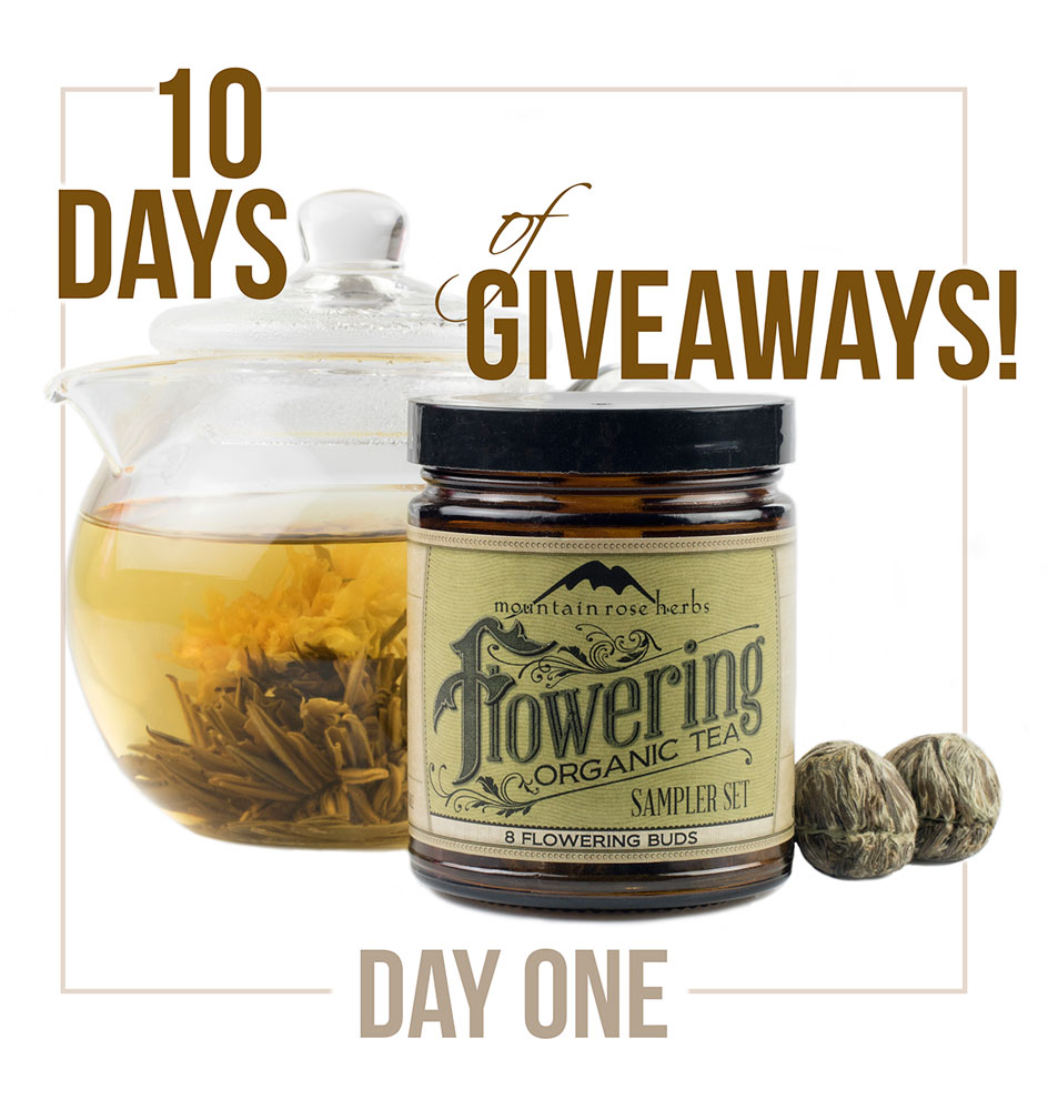 10 Days of Gratitude & Herbal Giveaway