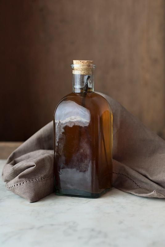 Bottle of vanilla extract