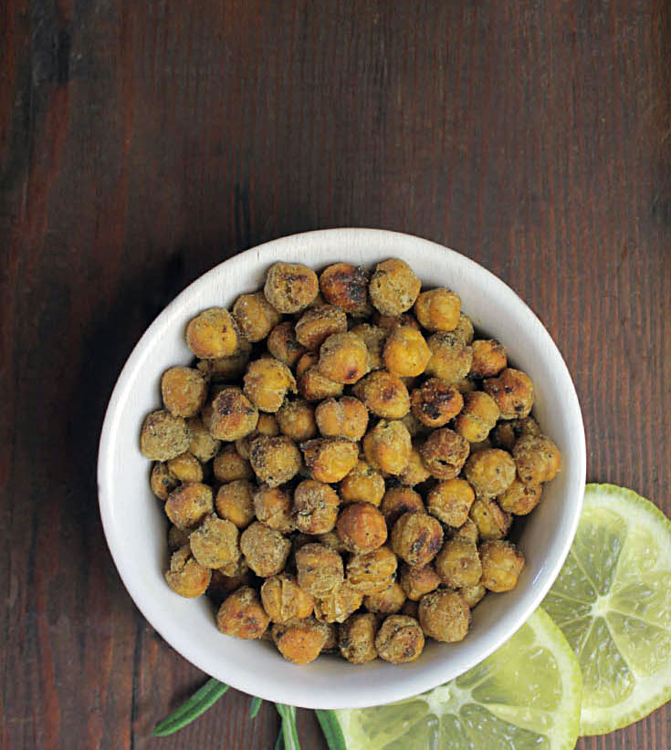 Crunchy Herb Roasted Chickpea Recipe