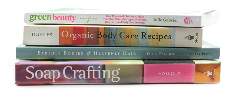 Natural Body Care Books from Mountain Rose Herbs