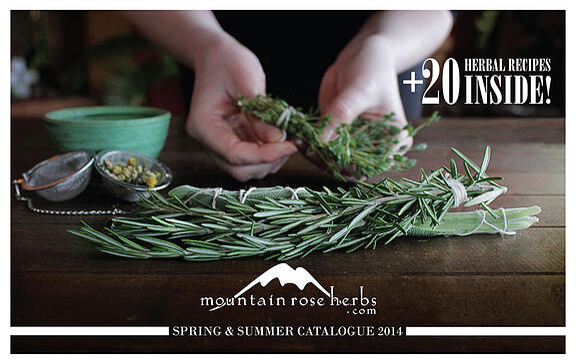 Mountain Rose Herbs 2014 Summer Catalog