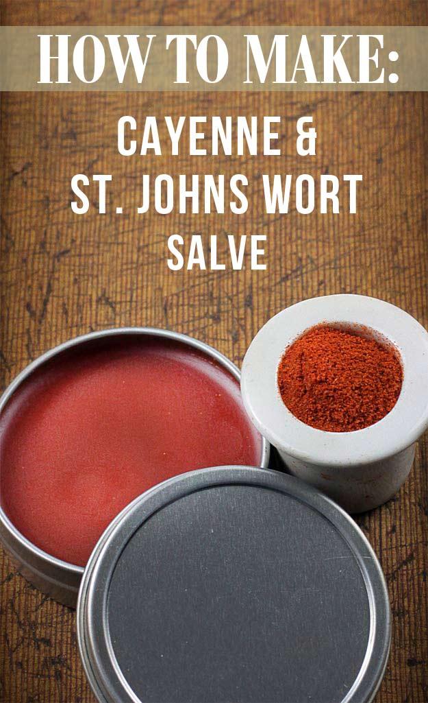 Cayenne & St. John's Wort Salve