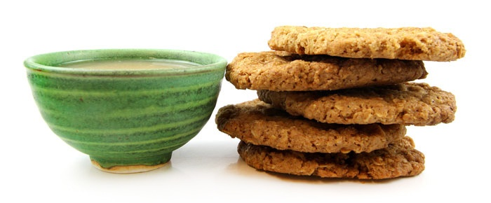 Chai Spiced Oatmeal Cookies