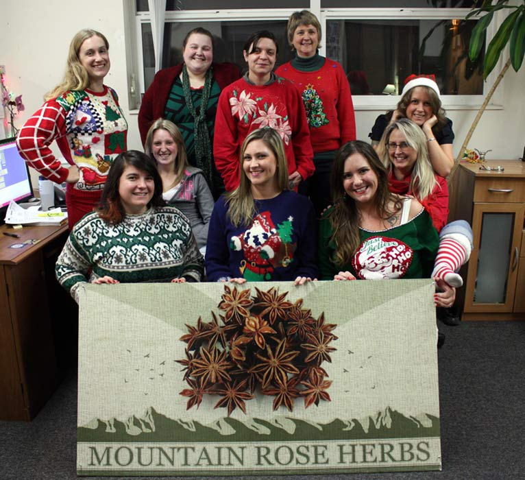 Happy Holidays from Mountain Rose Herbs!