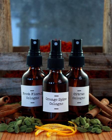 DIY botanical perfumes and colognes