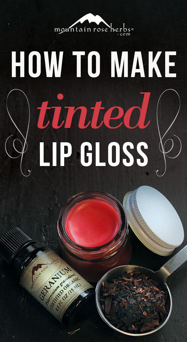 DIY Tinted Lip Gloss