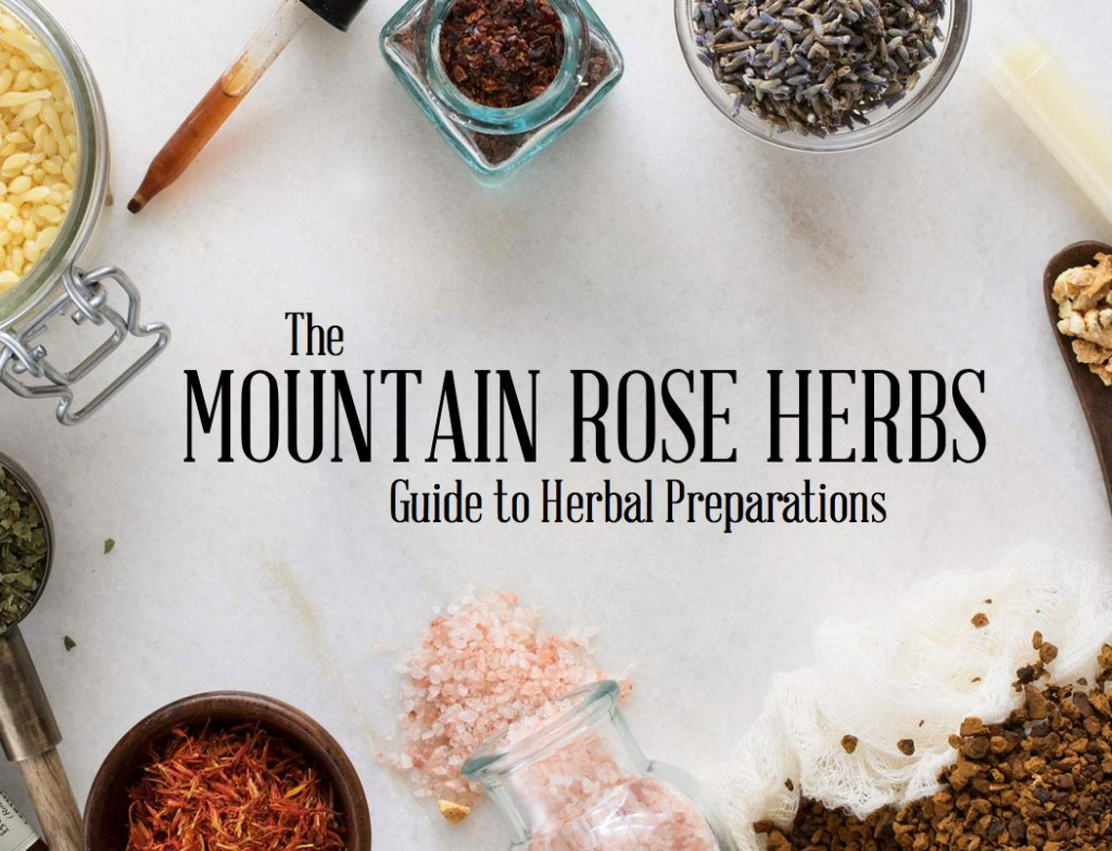 Free Download: Herbal Preparations eBook!