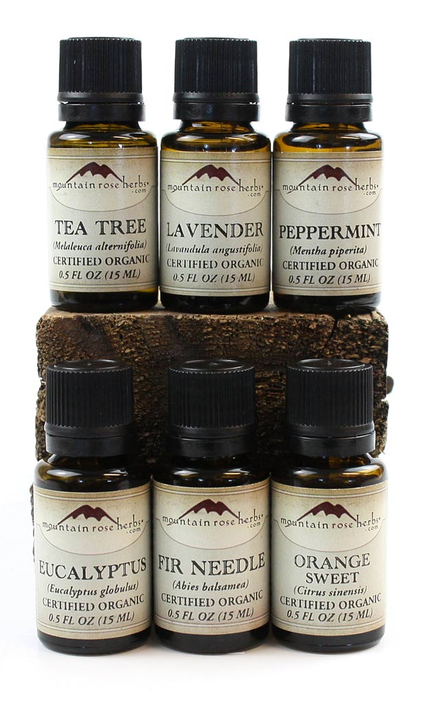 Organic Essential Oils from Mountain Rose Herbs