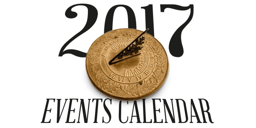 2017 Herbal Events Calendar Graphic