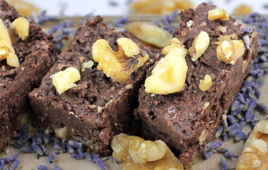 Lavender Infused Sweets: Raw Walnut Milk and Fudge!