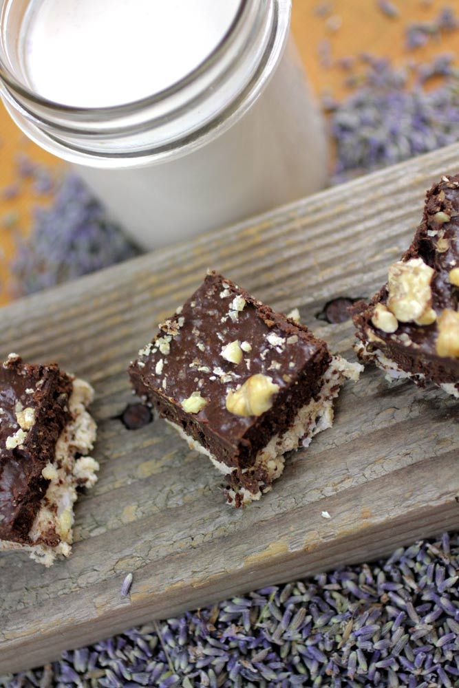 Lavender Infused Sweets: Raw Walnut Milk and Fudge!
