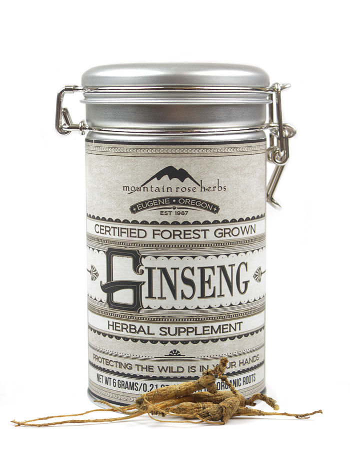 American Ginseng - Certified Forest Grown - Organic from Mountain Rose Herbs
