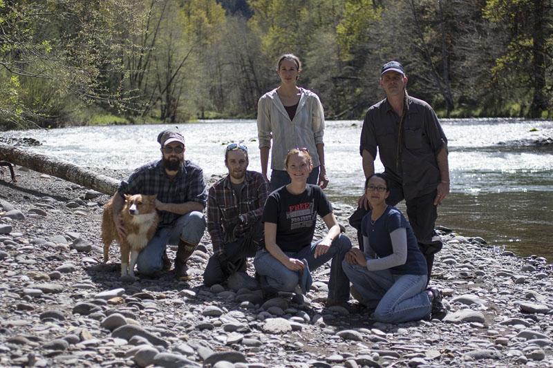 Group of Mountain Rose Herbs Volunteers