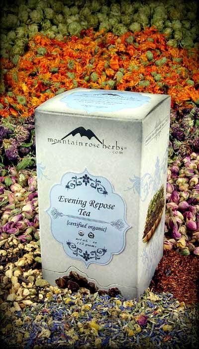 Herbal Tea from Mountain Rose Herbs