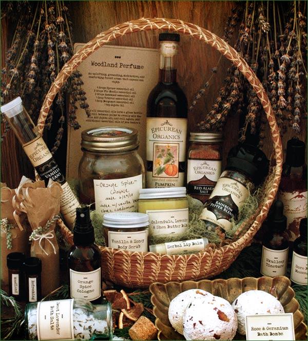 Homemade herbal gift ideas!