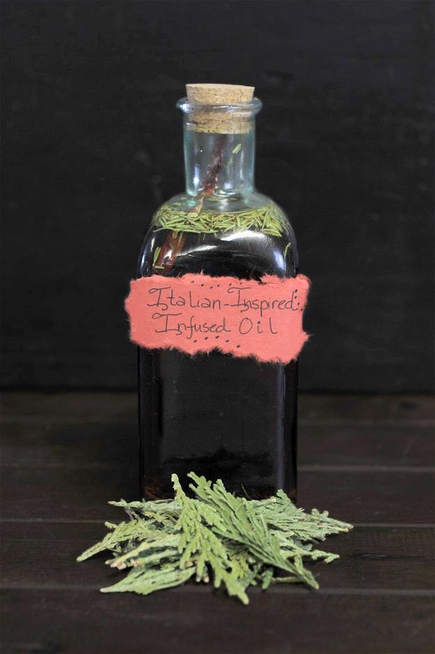 Italian inspired infused oil