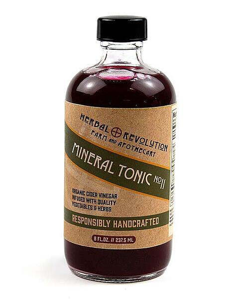 New! Mineral Vinegar Tonic from Herbal Revolution!