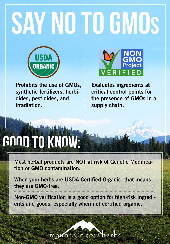 Non-GMO - Mountain Rose Herbs