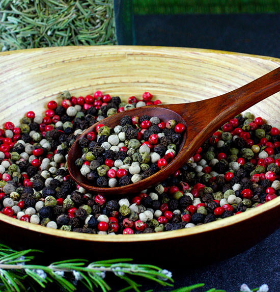 Organic Rainbow Peppercorn Blend from Mountain Rose Herbs