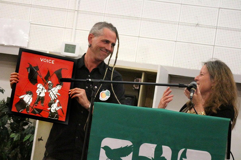 Shawn wins the Rachel Carson Award!