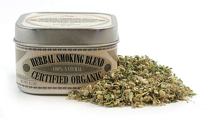 Organic Herbal Smoking Blend from Mountain Rose Herbs