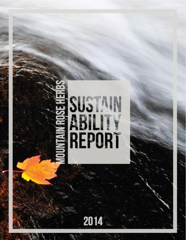 New Sustainability Report!