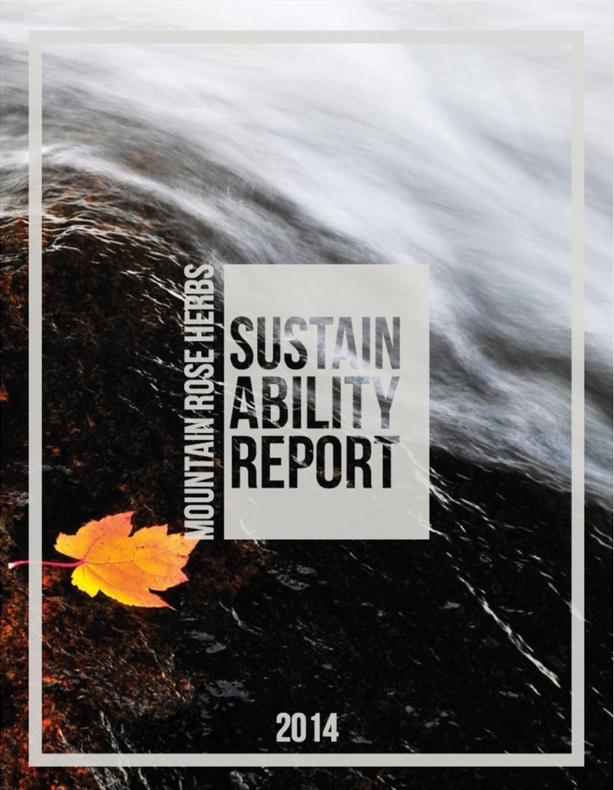 New Sustainability Report!