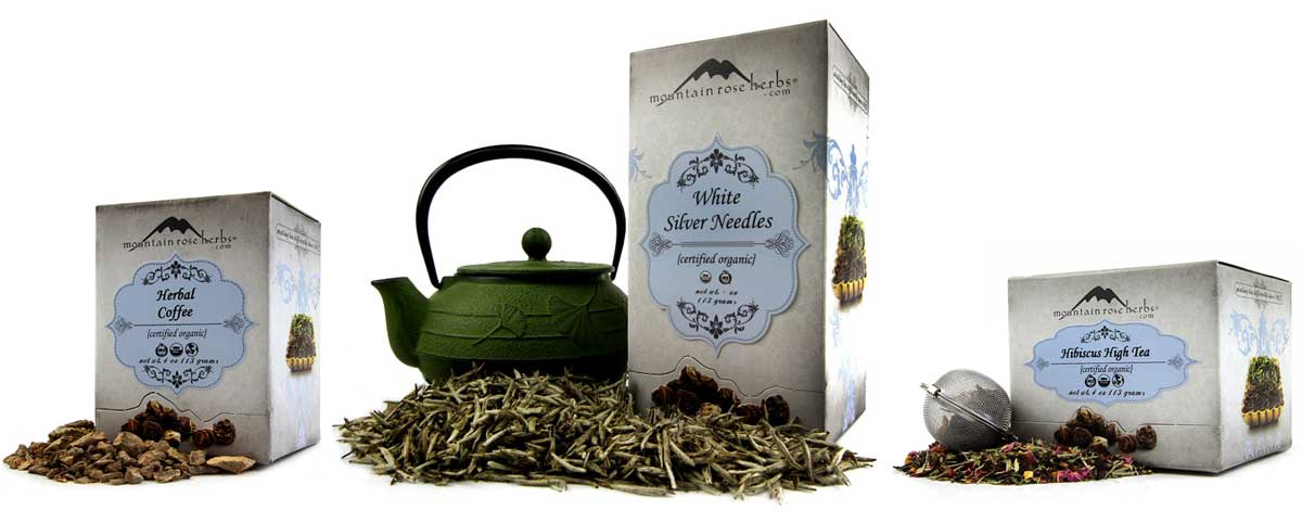 Mountain Rose Herbs New from the Tea Shelf!