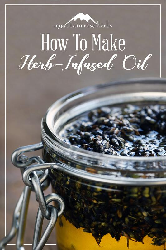 Pin to how to make herb-infused oil