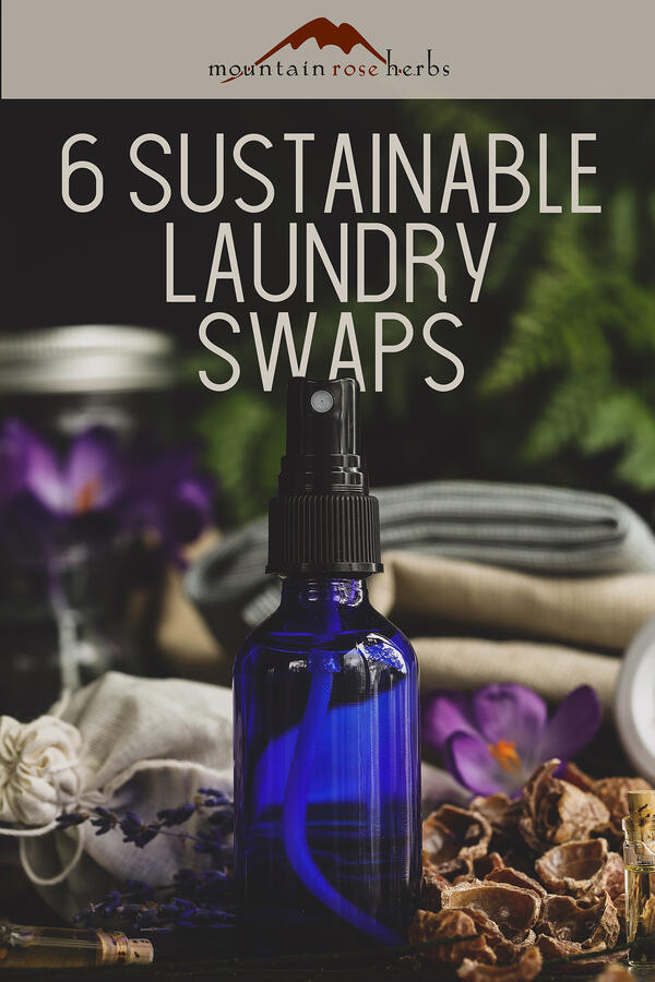 Pin to 6 Sustainable Laundry Swaps