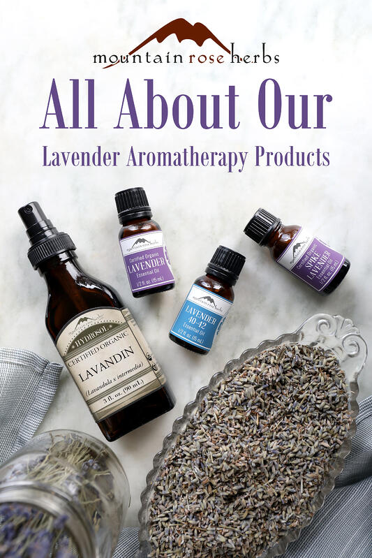 Lavender products are popular for aromatherapy as well as culinary creations. Lavender essential oils can be used in skin care creations or in home essential oil diffusers.