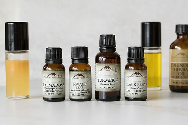 Muscle friendly essential oils and oils
