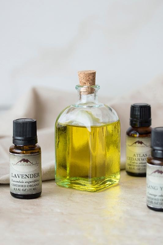 Massage Oil ingredients