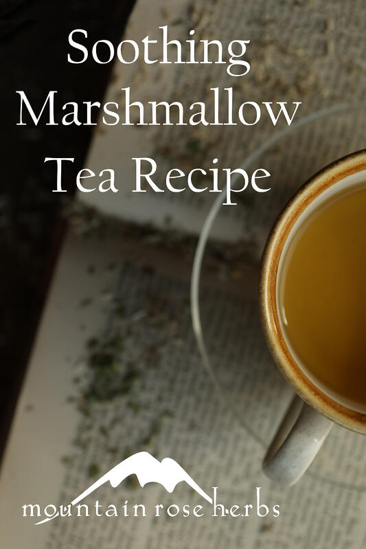 Soothing Marshmallow Tea Recipe