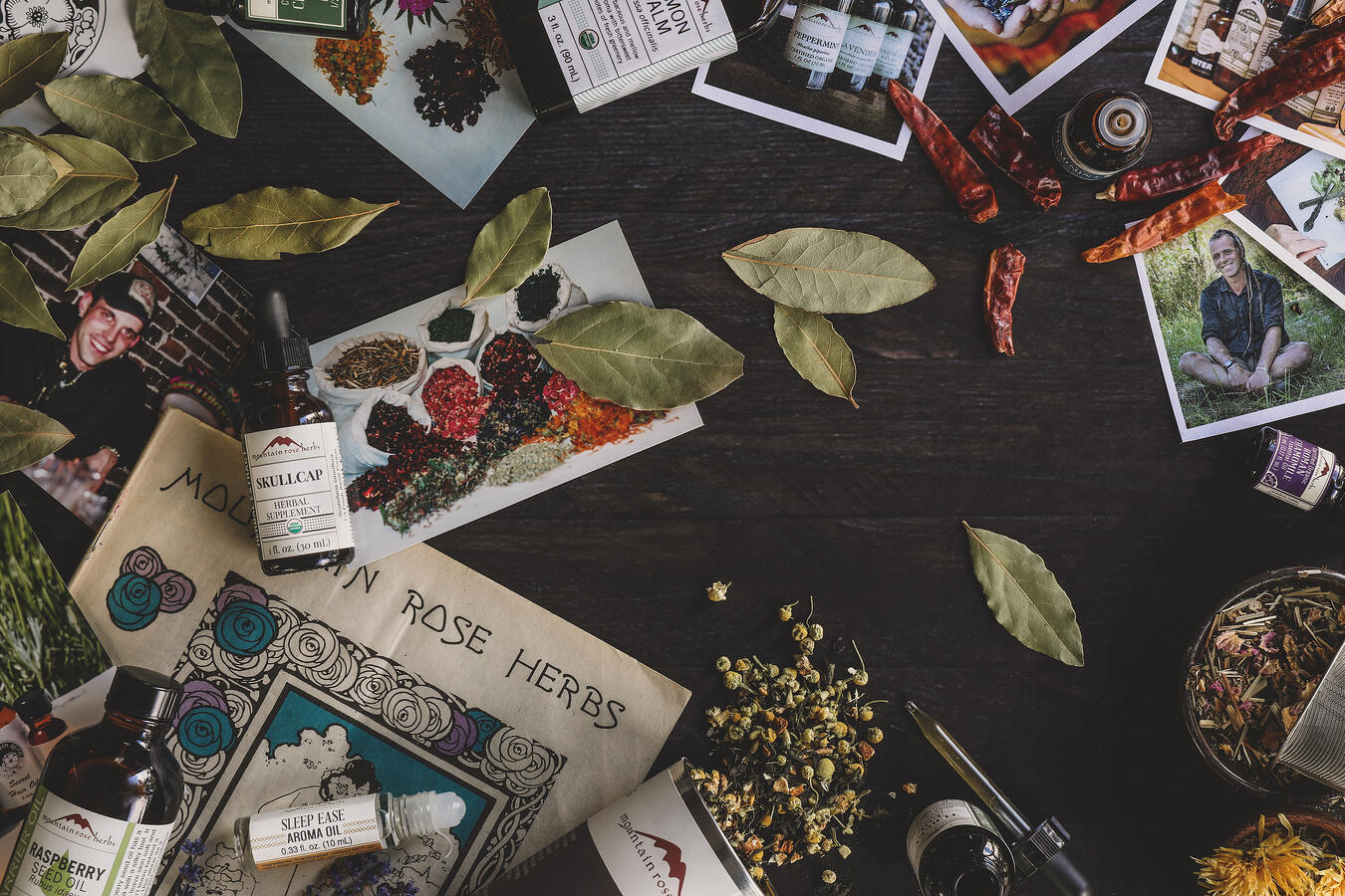 Old meets new Mountain Rose Herbs products