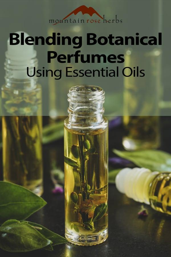 Perfume blending for Pinterest