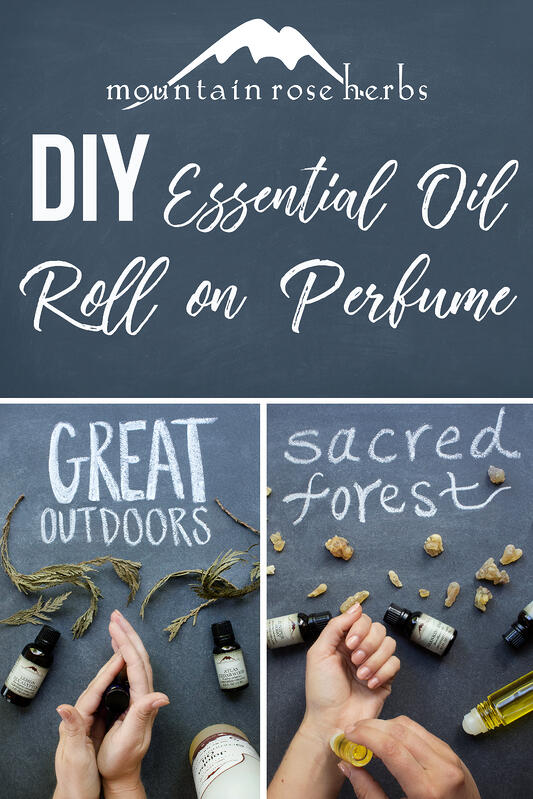 Pin to DIY Essential Oil Roll On Perfume