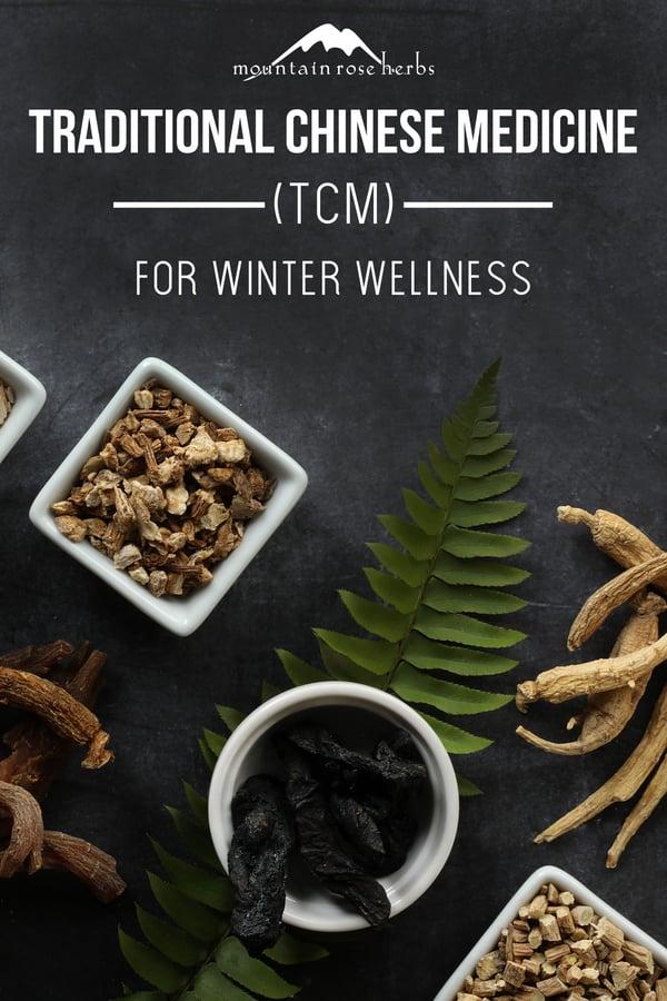 TCM winter wellness for Pinterest