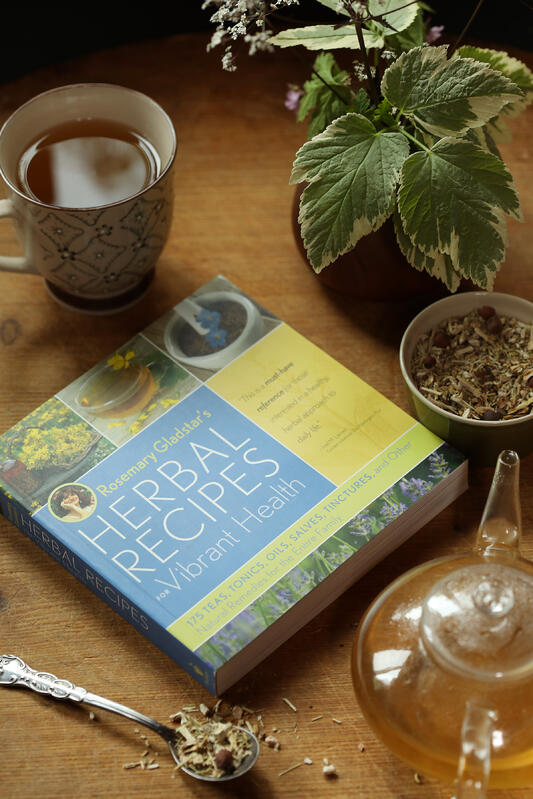 Herbal Recipes for Vibrant Health book by Rosemary Gladstar