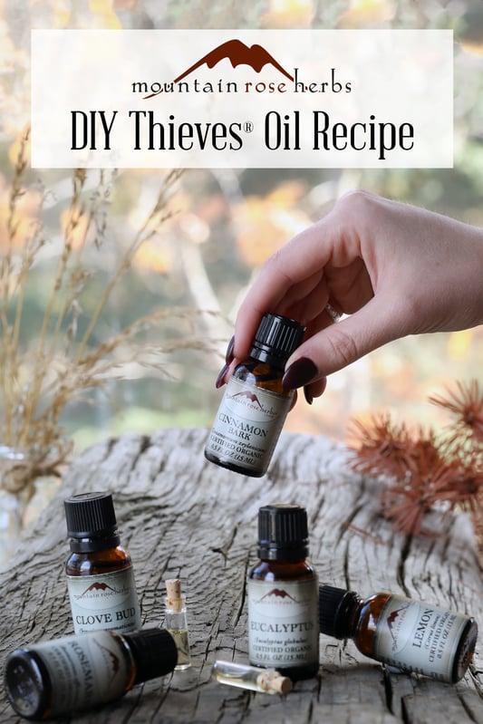 Pin to DIY Thieves Oil Recipe